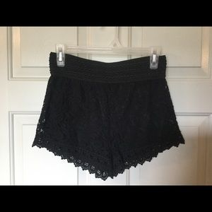 Pants - Ambiance Apparel Crocheted Shorts